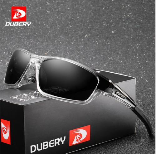 DUBERY Mens Polarized Sport Sunglasses Outdoor Riding Fishing Goggles New 2019 2