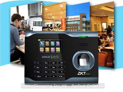 ZKTECO FINGERPRINT TIME Attendance ZK WiFi Fingerprint Time Clock U160  TCP/IP