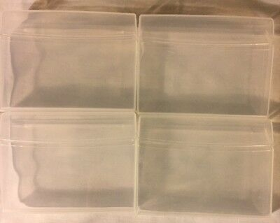 Lot Of 12 Empty Extra 35 Stick Gum Plastic Hinged Lid Container Craft Storage