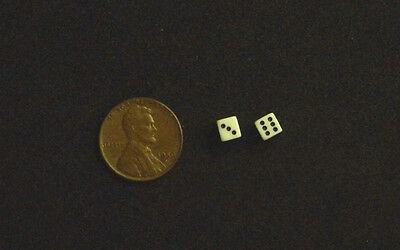 Dollhouse Miniature Money DICE Printed to Detail