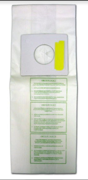 Sharp Upright Type PU-2 Vacuum Bags- 9 Pack - 99.7% Filtration!