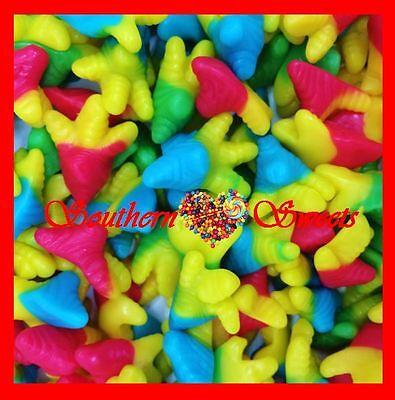 Trolli Chicken Feet 2Kg Bag Yellow Green Red Blue Gummy Lollies 2