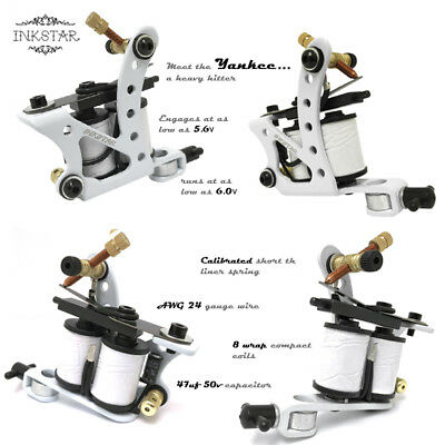 Complete Tattoo Kit Professional Inkstar 5 Machine Ace Set GUN 20 Color Ink