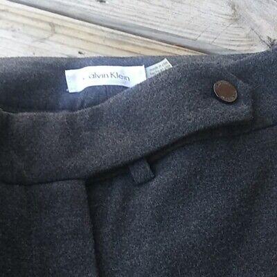 Calvin Klein Women's Dress Pants size 6, gray  polyester, rayon 2