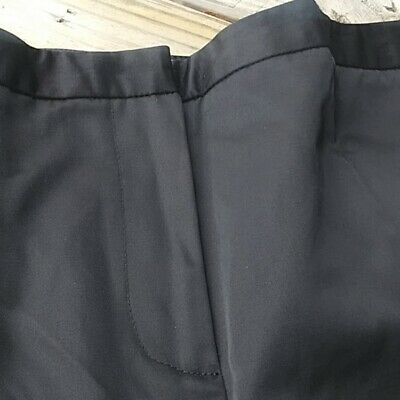 Calvin Klein Pants Trousers Black Cotton/Nylon Size 10 2