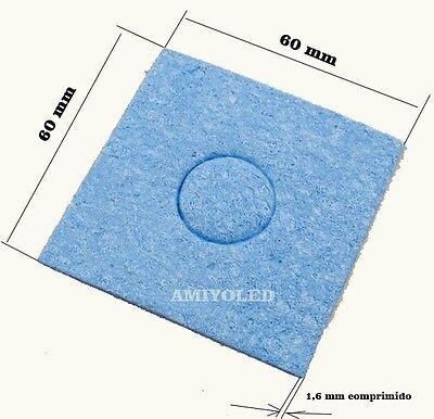 2 x Esponja Resistente Al Calor Para Limpieza  de la punta de Soldador 2