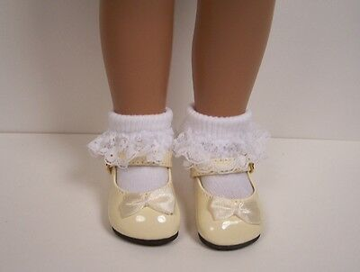 "17/"" Sasha Debs LAVENDER Classic Doll Shoes For 16/"""