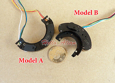 2PCS 2-Phase 4-Wire Miniature 8mm Micro Mini Stepper Motor Copper Gear Camera 4