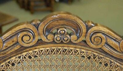 8 English William Mary Rustic Dining Chairs Barley Twist 7