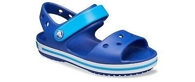Crocs Crocband Kids Sandals Boys Girls Summer Beach Touch Fasten Shoes Clogs