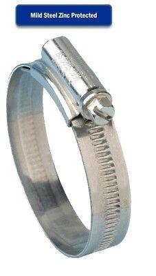 Jubilee Clips Mild Steel Zinc Genuine Jubilee Hose Clips Worm Drive Hose Clamps 3