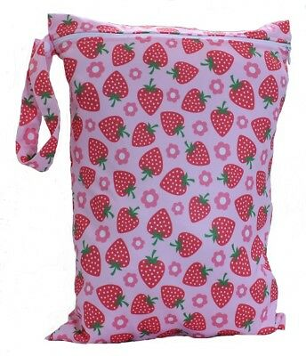 Waterproof Kids Wet Bag 30x40cm for Nappies, Clothes, Swimmers, nappy bag eco 7