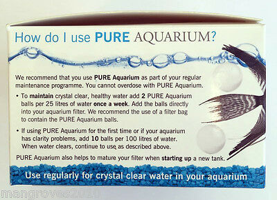 Evolution Aqua Pure Aquarium 50 Balls Crystal Clear Water Bacteria Filter 6
