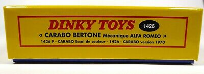 Coffret Collector Alfa Roméo Carabo Bertone DINKY TOYS Voiture Miniature MB101 4