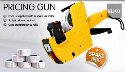 Local- Pricing Price Tag Tagging Gun Labeler + 15 Rolls 2