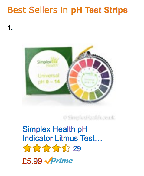 Alkaline pH Test Litmus Paper Strips 0 - 14 for Water Urine & Saliva 5M Roll 4