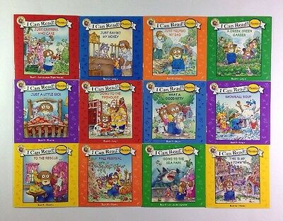 Little Critter Childrens Phonics I Can Read Books Early Readers Lot 12 11
