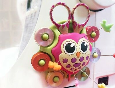 Owl Essentials Sewing Caddy & Pin Cushion  For Arts And Crafts 3
