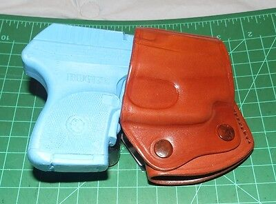 Tagua OPH-075 RH Suede Leather IWB Holster for Ruger LC9 LC380 with