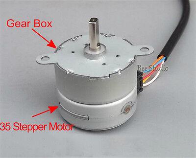 2PCS DC12V 35BY412 4-Phase Gear Step Motor Permanent Magnet Stepper Motors 8