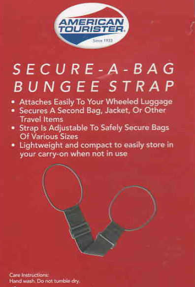 Secure-A-Bag Bungee Strap by American Tourister for Carry-Ons Suitcase, Baggage 3