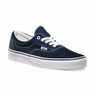820c6c0e3312bd ... Vans ERA Navy White VN-0EWZNVY Canvas Classic Shoes All Size Fast  Shipping 3