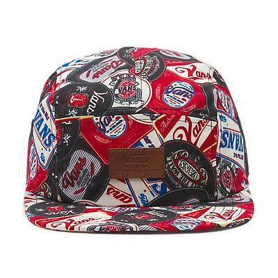 fdf4ed68 VANS OFF THE Wall Davis 5 Panel Hat Mens Beer Belly Soft Crown Camper NWT  NEW