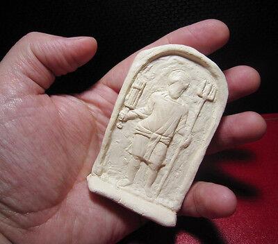 Terracotta Votive Plaque Depicting Gladiator, Replica!!! 5