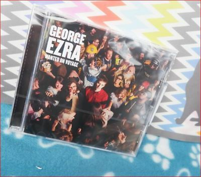"""George Ezra: New Sealed Fast Freepost """"Wanted on Voyage"""" Debut CD Budapest 7"""