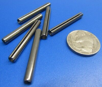 """18-8 Stainless Steel, Slotted Roll Spring Pin, .156"""" Dia x 1 3/8"""" Length, 50 pcs 7"""
