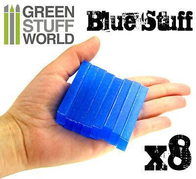 Blue Stuff 8Bars - Make reusables instant molds - Warhammer 40K OOAK Doll Reborn 8
