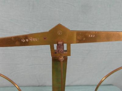 Apothekerwaage Präzisionswaage Waage 1 kg Antik Feinwaage Messing Gewichte  20b2