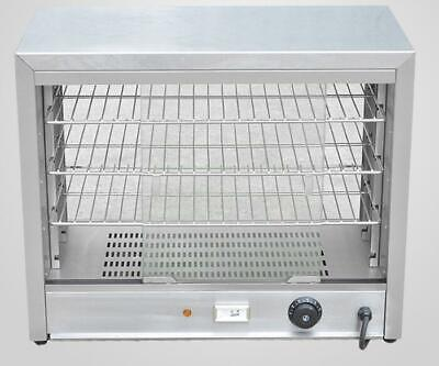 B New Commercial Hot display case Pie warmer shelves Countertop 2
