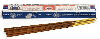 3 Packs Original Satya Sai Baba Nag Champa Incense Sticks  Joss Insense Genuine 5