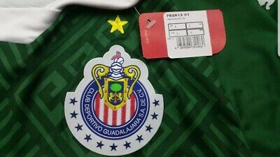 timeless design 2478e fc9e4 PUMA CHIVAS GREEN Jersey America Tigres Pumas Rayados Mundial de Clubes  Size XXL