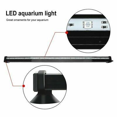 LED Aquarium Lights Submersible Air Bubble RGB Light for Fish Tank Underwater AU 7