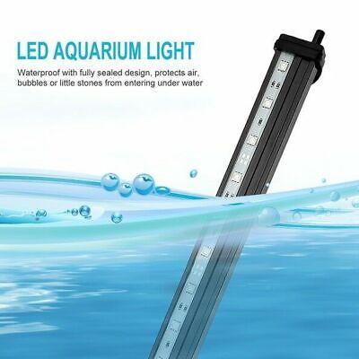 LED Aquarium Lights Submersible Air Bubble RGB Light for Fish Tank Underwater AU 6