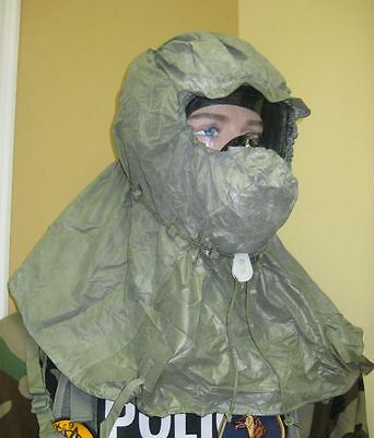 Gas Mask Hood Cover Face Head Protection Paintball Nbc/ Hood Only 2