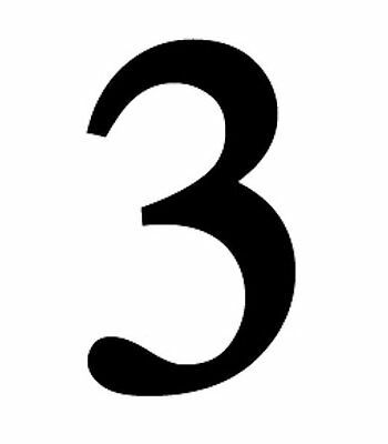 5 Of 10 New Large Black Metal 12 House Numbers Wrought Iron Signage For Home Address