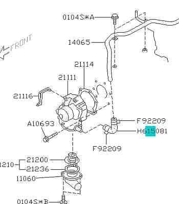 Subaru Sohc Timing Marks
