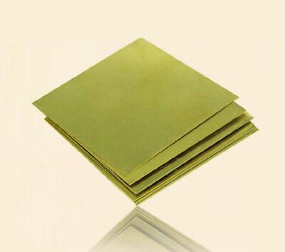 H62 Feuille de laiton de qualité Épaisseur de plaque 0,5-3mm 50-200mm 2