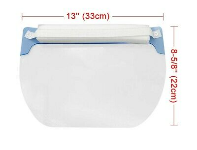 10 PCS Safety Face Shield Anti-Splash Reusable Washable Protection Cover 4