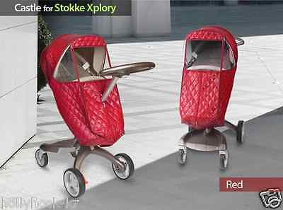 MANITO Castle Stroller Weather Shield Rain Snow Winter Cover for Stokke Xplory 2