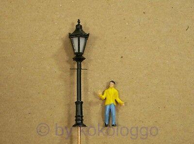 Parklaterne Parklampe,schwarz 6 Stück// Nr 8  LED,Straßenlampe Parkleuchte