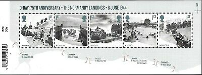 Gb 2019 Mint D-Day 75Th Presentation Pack 572 Stamps Sheet Retail Booklet Pm67 8