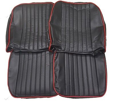 MGB GT & ROADSTER 1972-1980 Seat, Headrest & Armrest Covers, Various Colours 2