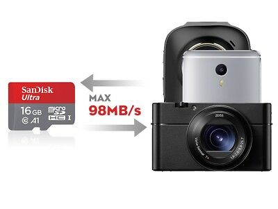 SanDisk Micro SD Card 16G 32G/64G/128G/200GB Class 10 SDHC SDXC Memory Card AU 4