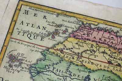 1717 African Continent Old Map / N.DEFFERT / very rare !! 2