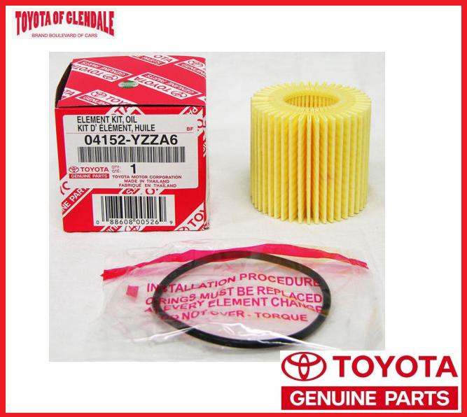 PACK 5 TOYOTA Oil Filter 04152-YZZA6 DENSO 150-3024 For Corolla//Prius//Scion