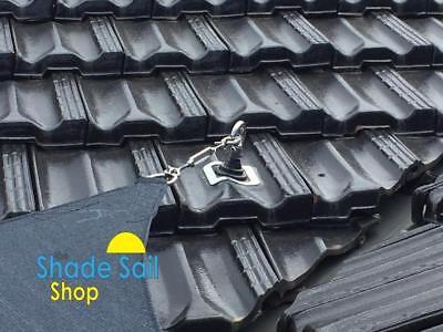 100 x 100 mm Corner Bracket  External STAINLESS STEEL DIY Shade sail accessories 8